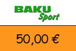 Baku-Sport 50,00 € Gutscheincode