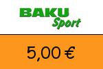 Baku-Sport 5,00€ Gutschein