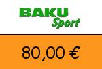 Baku-Sport 80,00 Euro Gutschein