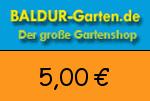 Baldur-Garten 5,00€ Gutschein