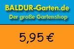 Baldur-Garten 5,95 Euro Gutscheincode