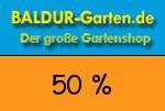 Baldur-Garten 50 % Gutschein