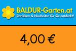 Baldur-Garten.at 4,00 Euro Gutscheincode