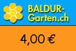 Baldur-Garten.ch 4,00 Euro Gutscheincode