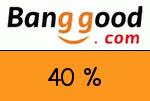 Banggood 40 Prozent Gutscheincode
