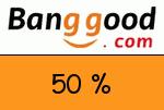 Banggood 50 % Gutscheincode