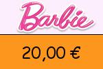 Barbie 20 € Gutscheincode
