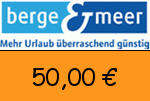 Berge-Meer 50,00 € Gutschein