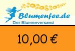 Blumenfee 10,00 Euro Gutscheincode