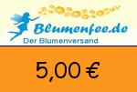 Blumenfee 5,00€ Gutscheincode