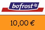 Bofrost 10,00 Euro Gutschein