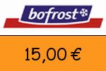 Bofrost 15 Euro Gutscheincode