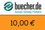 Buecher 10,00 Euro Gutschein