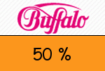 Buffalo.at 50 % Gutschein