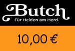 Butch 10,00 Euro Gutscheincode
