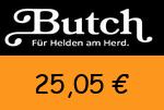 Butch 25,05 Euro Gutscheincode