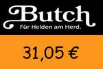 Butch 31,05 Euro Gutscheincode