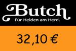 Butch 32,10 Euro Gutscheincode