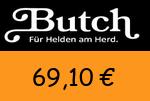 Butch 69,10 Euro Gutscheincode