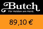 Butch 89,10 Euro Gutscheincode