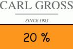 Carl-Gross 20 Prozent Gutscheincode