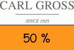 Carl-Gross 50 % Gutschein