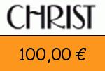 Christ 100 Euro Gutscheincode