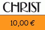 Christ 10,00 Euro Gutschein