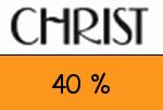 Christ 40 Prozent Gutschein