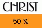Christ 50 % Gutschein