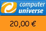 ComputerUniverse 20 € Gutscheincode