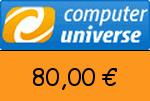 ComputerUniverse 80,00 Euro Gutscheincode