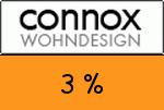 Connox 3 Prozent Gutschein