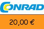 Conrad 20 € Gutschein