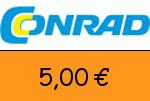 Conrad 5,00€ Gutschein