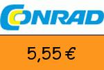 Conrad 5,55 Euro Gutschein