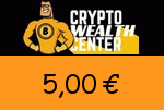 Crypto Wealth Center 5,00€ Gutscheincode