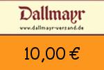 Dallmayr 10,00 Euro Gutscheincode