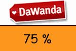 DaWanda 75 Prozent Gutschein