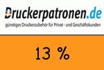 Druckerpatronen 13 Prozent Gutscheincode