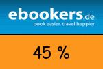ebookers 45 Prozent Gutschein