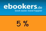 ebookers 5 Prozent Gutschein
