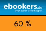 ebookers 60% Gutschein