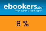 ebookers 8 Prozent Gutschein