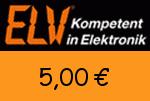 ELV 5,00€ Gutscheincode