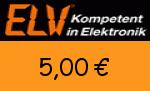ELV.at 5,00€ Gutschein