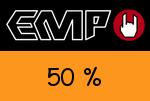 EMP 50 % Gutschein