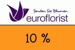 EuroFlorist 10 Prozent Gutscheincode