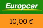 Europcar 10,00 Euro Gutscheincode