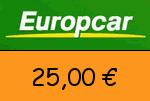 Europcar 25,00 Euro Gutscheincode